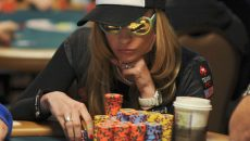 Vanessa Rousso playing poker